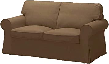 Tremendous The Ektorp Loveseat Cover Replacement Is Custom Made For Ikea Ektorp Loveseat Sofa Cover Sofa Cover Only Cotton Coffee Evergreenethics Interior Chair Design Evergreenethicsorg