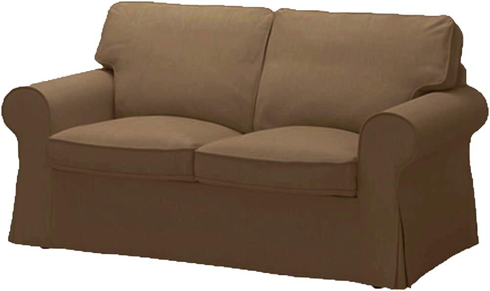 The Durable Dense Cotton Ektorp Loveseat Cover Replacement Is Custom Made For Ikea Ektorp Loveseat Sofa Cover Or Slipcover. Cover Only! Sofa is not included! (Coffee)