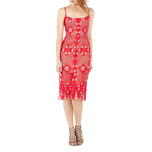 Cutwork Dress - BCBGMax Azria Women's Alese Fitted Dress,