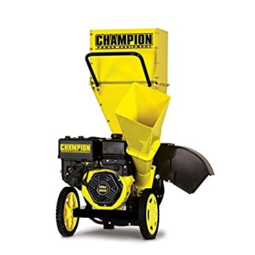 Champion 3 Portable Chipper-Shredder with Collection Bag
