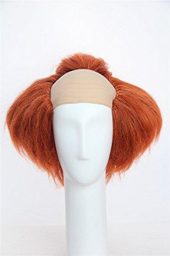 Weave Wigs –Halloween Deep Orange Clown Wig by Weave Wigs