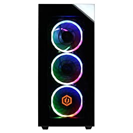 CyberpowerPC Gamer Supreme Liquid Cool Gaming PC, Intel Core i7-9700K 3.6GHz, NVIDIA GeForce RTX 2070 Super 8GB, 16GB…