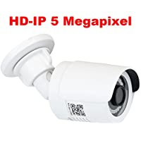 GW Security 5MP Super HD 1920P POE H.265 ONVIF Waterproof Bullet IP Security Camera