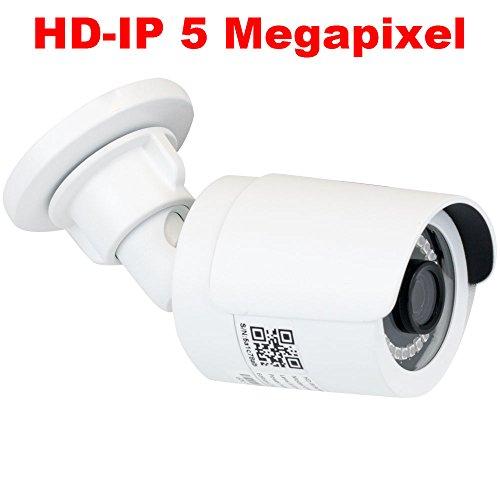 GW Security 5MP Outdoor Indoor Waterproof Dome PoE Security HD 1920P IP Camera