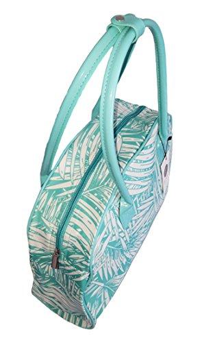Personalized Weekender Purse Bag Beach Leaf Palm Tropical Aqua rwq7BYr