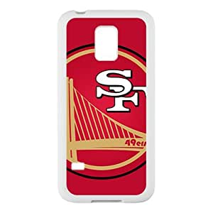 Funny SanFrancisco 49ers and Golden States Warriors Mixed Logo Custom Case Cover for SamSung Galaxy S5 mini (Laser Technology)