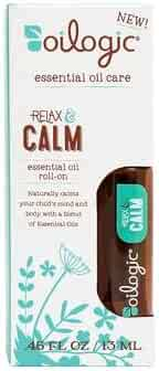 Oilogic Calming Essential Oil Blend Relax & Calm Roll-On For Kids and Toddlers