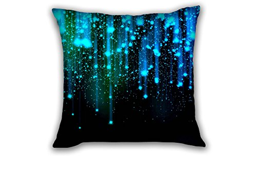 Polyester mildewproof Throw Pillow Covers Outdoors Cushion Cases Square Home Sofa Decorative 18x18 inches (Vinyl Outdoor Cushions)