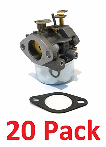 (20) CARBURETORS & Gaskets for Tecumseh 8hp 9hp HMSK80 HMSK90 Snowblowers by The ROP Shop by The ROP Shop