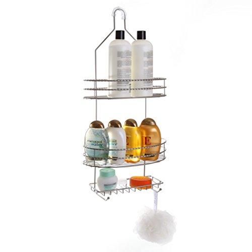BINO Florence 3 Shelf Showerhead Nickel product image