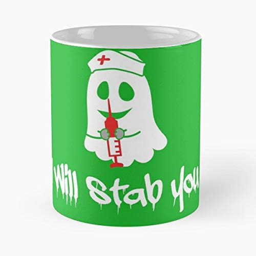 Halloween Costume Witch Paneling - 11 Oz Coffee Mugs Unique Ceramic Novelty Cup, The Best Gift For Halloween. ()