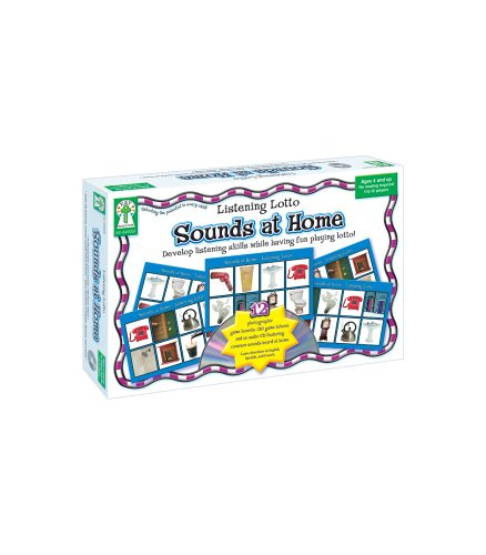 Key Education Listening Lotto: Sounds at Home Educational Board Game (Best Educational Board Games)