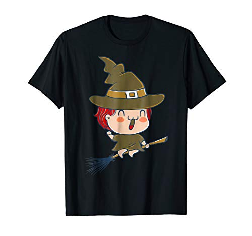 Cute Baby Witch T-Shirt Halloween Kid Scary Costume Tee for $<!--$15.99-->