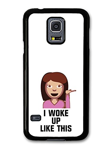 I Woke Up Like This Cute Girl Fashion Cool Style Design coque pour Samsung Galaxy S5 mini