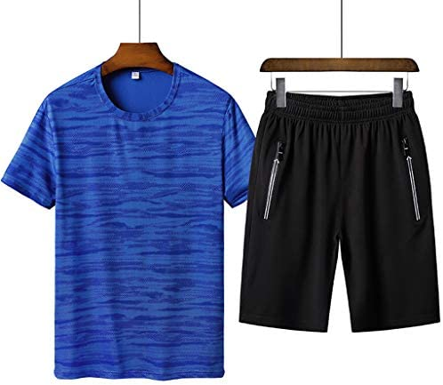 westAce Mens Pyjamas Shorts Set Loungewear Short Sleeve Top Big Size 2XL 3XL 4XL PJs