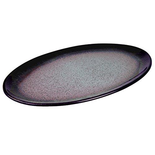 Denby HEA-013 Heather Oval Platter, Purple, Medium -