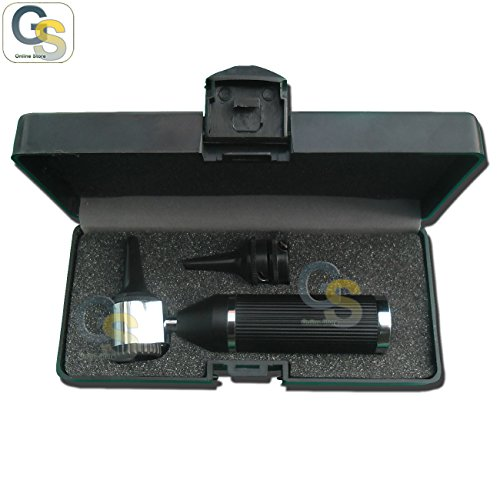 G.S OTOSCOPE SET ANIMAL VETERINARY BLACK COLOR DIAGN INSTRUMENTS BEST QUALITY