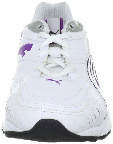Puma zapatillas de xenon tr sl wn 185766 para mujer Blanco (Weiß (white-bright violet-silver metallic-black 03))