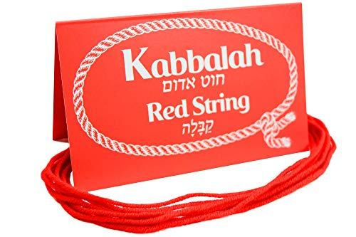(10 pcs Original Kabbalah Red String Protection Bracelet from Evil Eye Blessed in Israel)