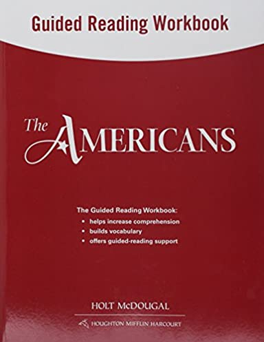 amazon com the americans guided reading workbook survey rh amazon com Guided Reading Clip Art the americans guided reading activities
