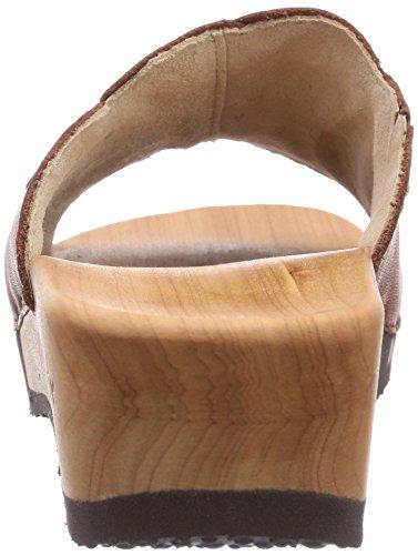 Woody - Zuecos de cuero para mujer Cuero