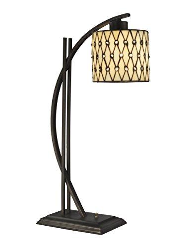 (Dale Tiffany TT13192 Cocoa Beach Table Lamp, 26.5