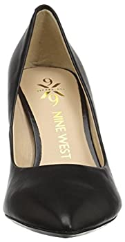 Nine West Women's Fifth9x Fifth Pointy Toe Pumps, Black Calf Leather - 8 B(m) Us 3