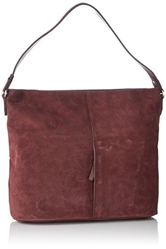 LE TANNEUR - Lou, bolso de bandolera Mujer, Violet (Tricolore), 13x30x33 cm (W x H L)