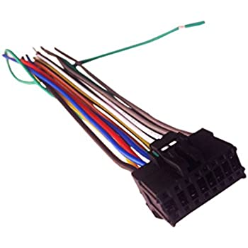 Pleasant Amazon Com 16 Pin Auto Stereo Wiring Harness Plug For Pioneer Avh Wiring Cloud Battdienstapotheekhoekschewaardnl