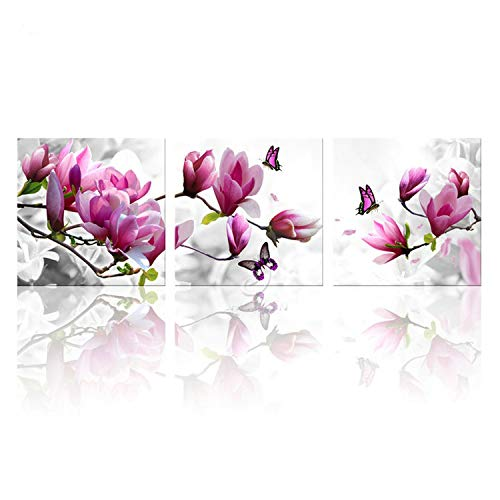 someone like you Canvas Painting Wall for Living Salon Modular Pictures Kitchen Green Orchid Picture Prints and Posters Room Art Print Flower,30X30cmX3 No Frame,B Style