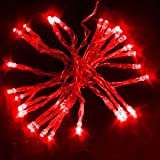 Innoo Tech**3m 30 Battery Operated Red LED String Lights for Wedding, Birthday, Christmas, New Year