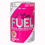 Premium Pre Workout Energy Supplement for Women - LadyBoss FUEL - Top Rated & Powered By Science - Effective, Powerful - Watermelon Candy Flavor - Focus, Strength & Endurance - 30 Servings