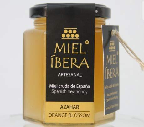 Miel de Azahar 250 gr & Miel de Brezo 250 gr (total 500 gr) cruda, artesanal de España, sin mezclar y sin pasteurizar, Gourmet (Azahar 250 gr)
