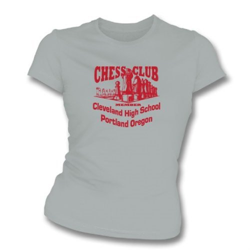 Chess Club Member Girl's Slim-Fit T-shirt X-Large - Red Sport Price Club Polo