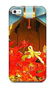 Flexible Tpu Back Case Cover For Iphone 5c - Christmas 96