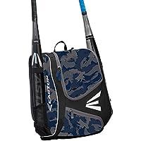 EASTON E110YBP - Mochila para bate y equipo juvenil, diseño de pelota de béisbol y softball 2020, 2 mangas de bate, almacenamiento de engranajes inteligentes, bolsillo para valores y tiradores de cierre de goma para la funcionalidad de Dugout