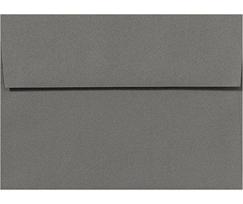 A1 Invitation Envelopes w/ Peel & Press (3 5/8 x 5 1/8) - Smoke Gray (50 Qty.)