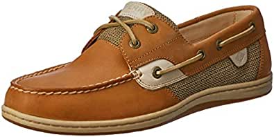 Sperry Koifish Women's Boat Shoes, Linen/Oat, 5 US