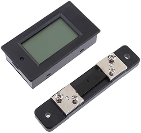 DCバッテリテストモジュール 6.5-100V 100A LCD 液晶電圧電流計