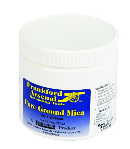 Frankford Arsenal 4 oz. Jar of Mica for Resizing Cases for Reloading