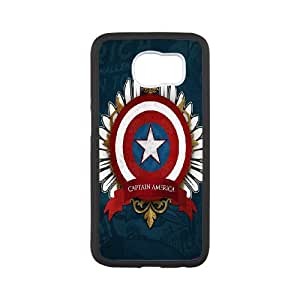 Cool Design Case For Samsung Galaxy S6 Captain America Phone Case