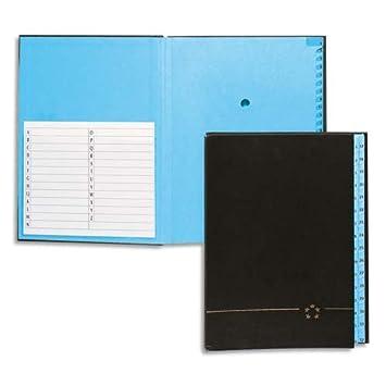 5* office - Agenda alfabética con 25 separaciones: Amazon.es ...