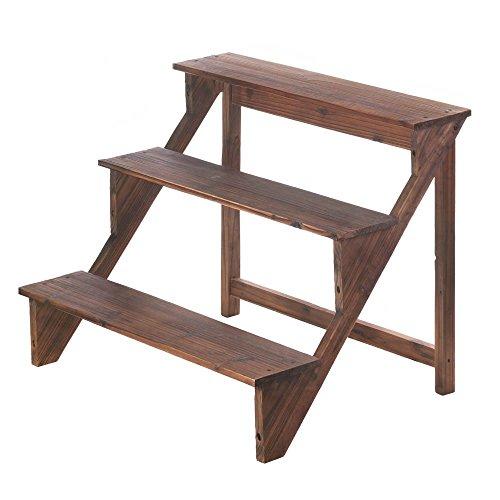 VERDUGO GIFT Wooden Steps Plant