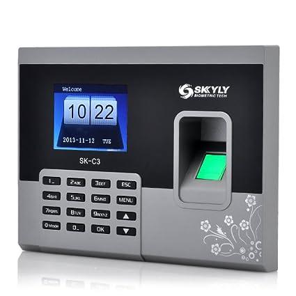 Control de acceso biometrico, por huella digital, dactilar, capacidad 150000 registros
