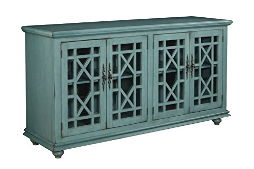 Martin Svensson Home 91001 Jules 63'' TV Stand, Teal by Martin Svensson Home