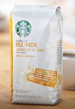 Starbucks Veranda Blonde Roast Blend, Whole Bean 12 Oz Bag (Pack Of 3) (Starbucks Whole Bean Coffee)