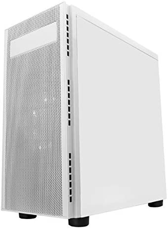 Top USB3.0//USB2.0//Audio Ports White Apevia X-HARMONY-WH Mid Tower with Full-Size Acrylic Side Window