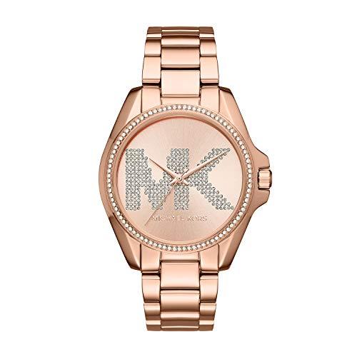 Michael Kors Women s Bradshaw Analog-Quartz Watch with Stainless-Steel Strap, Rose Gold, 20 Model MK6556