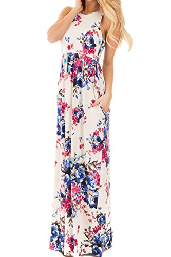 White Floral Dress - 9