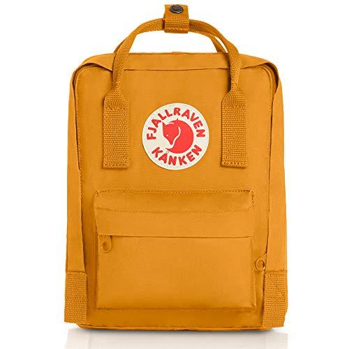 Fjallraven - Kanken Mini Classic Backpack for Everyday, Ochre